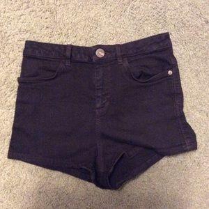 High-Waisted Topshop Shorts
